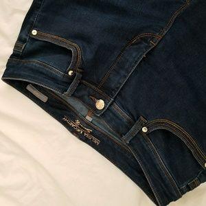 Melissa McCarthy Indigo Pencil Jeans
